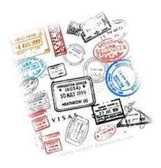 Passport Travel Stamps