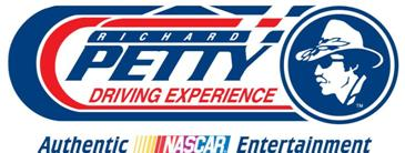 petty driving experience logo