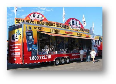 racing electronics trailer