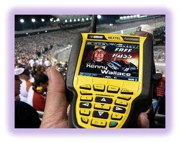 FanView nascar race scanners
