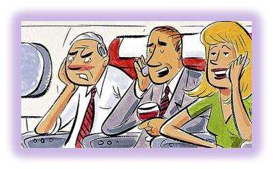 Airplane Travel Manners