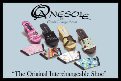 onesole interchangeable shoes