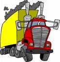 Semi Transport Truck Clipart