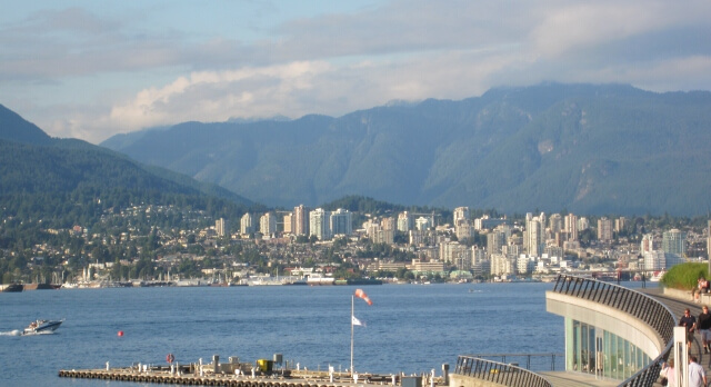 West Vancouver BC Skyline