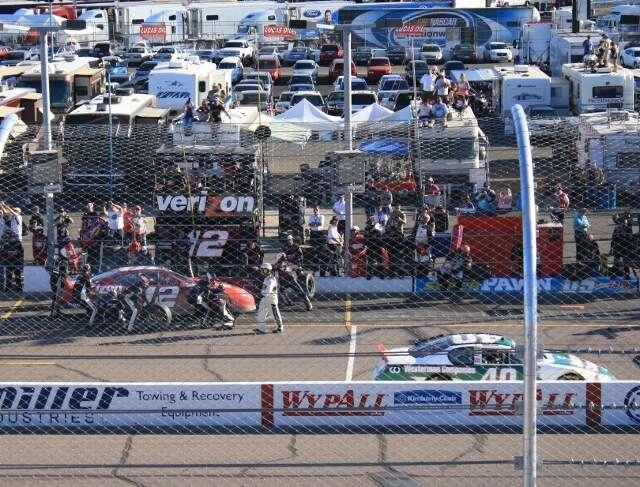 Nascar Racing Pit Action