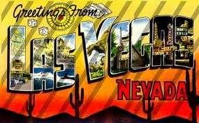 OLd Las Vegas Postcard
