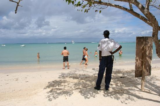 all inclusive resort security