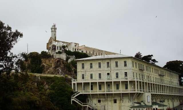 Alcatraz Island Prison Pictures