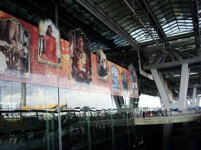 Bangkok Airport Departure Terminal