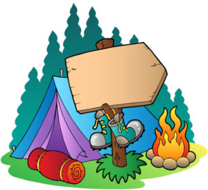 Camping Tips Cartoon