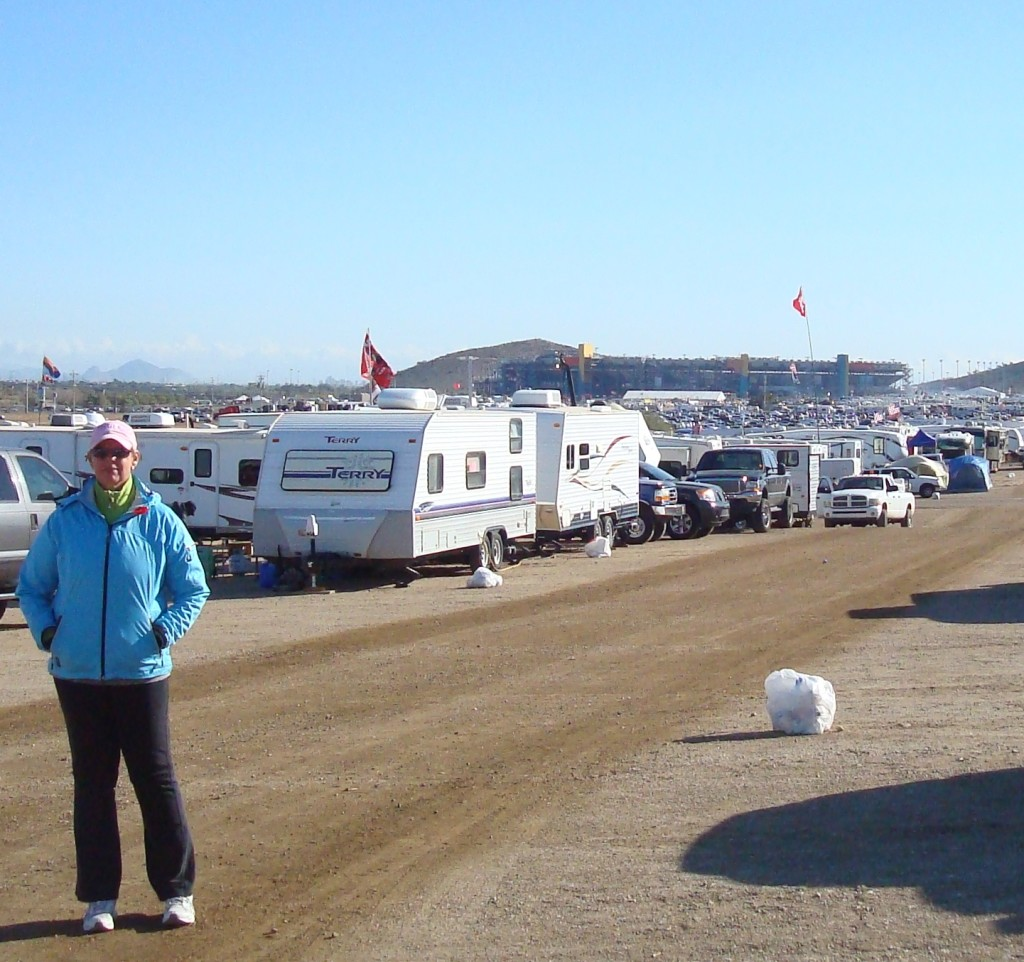 Camping at Phoenix Raceway
