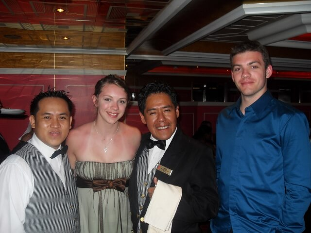 Cruise Ship Dining Room Staff