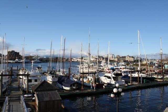 Fishermans Wharf Victoria BC