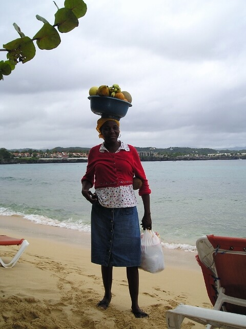 Beach Vendor Sosua Beach