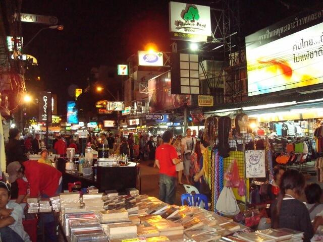 Khao San Rd Bangkok Thailand