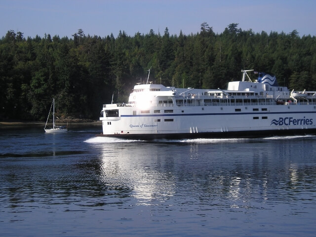 BC Ferries to Victoria BC