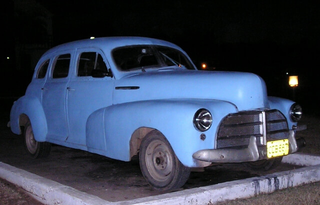 Old Cars of Cuba