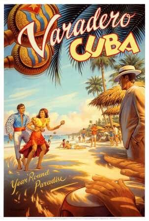 Olda Varadero Cuba Poster