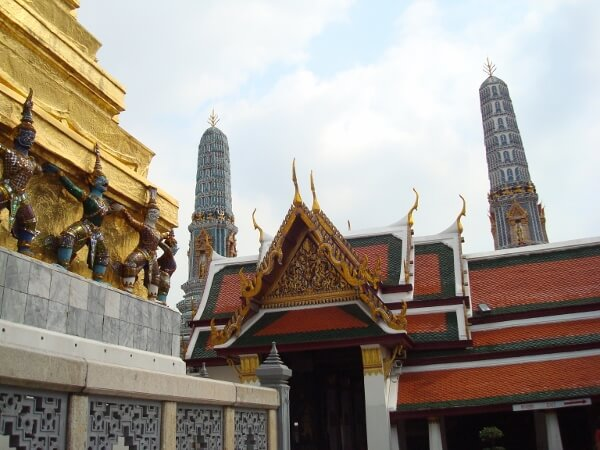 Buildings Inside The Bangkok Palace