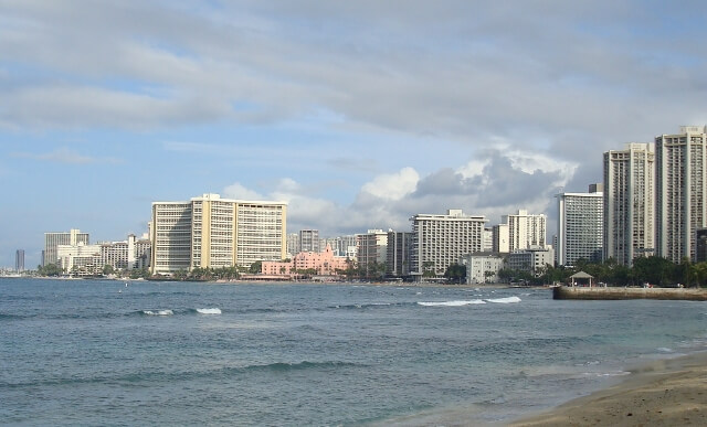Waikiki Beach Oahu Hawaii Welcomes You
