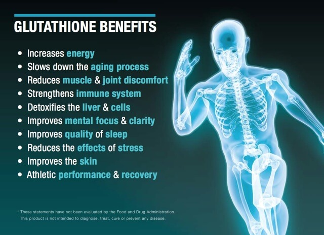 Glutathione for a healthy journey
