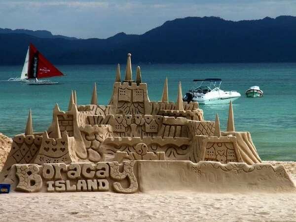 Boracay Island Sand Sculpture