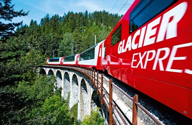 Glacier Express Rail Holidays