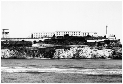 Old Alcatraz Prison Photo