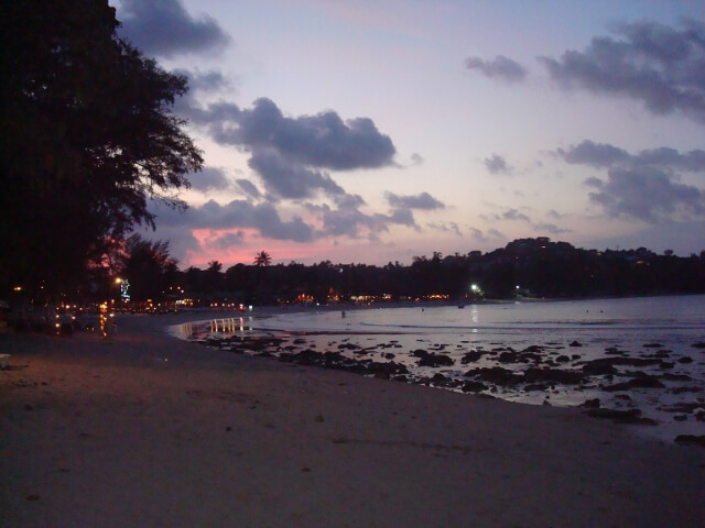Choeng Mon Beach Sunset