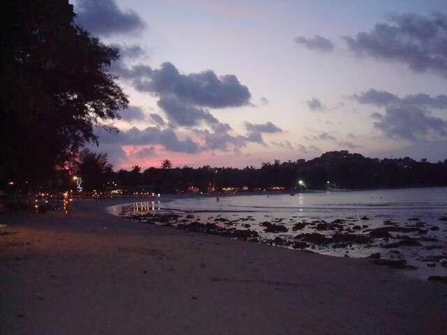 Chong Mon Beach Sunset