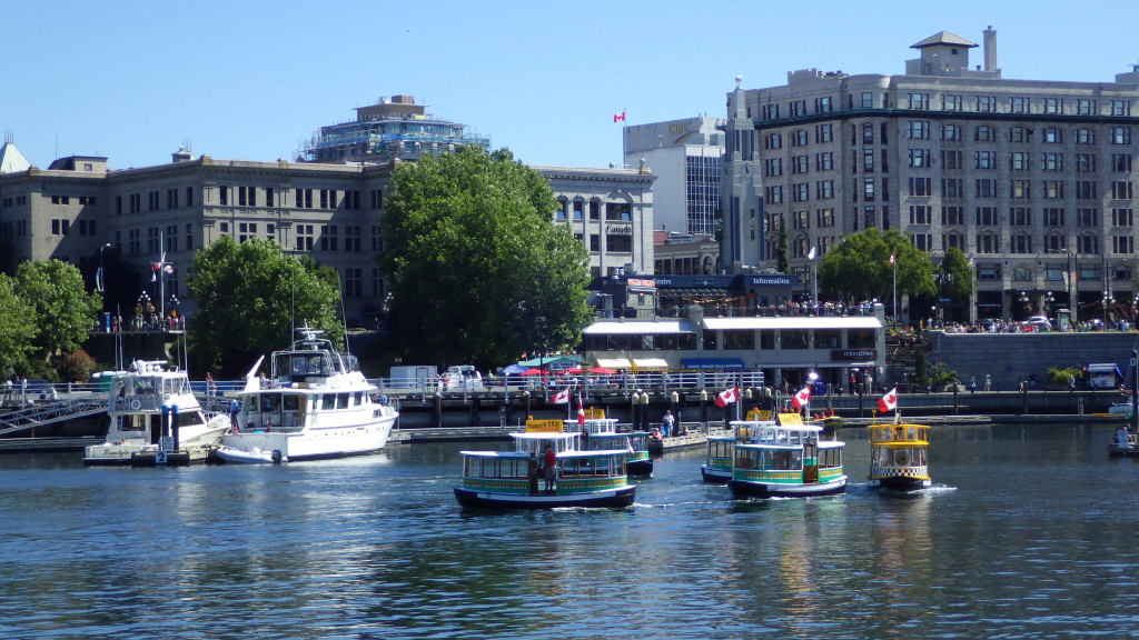 Water Taxi Ballet In Victoria British Columbia