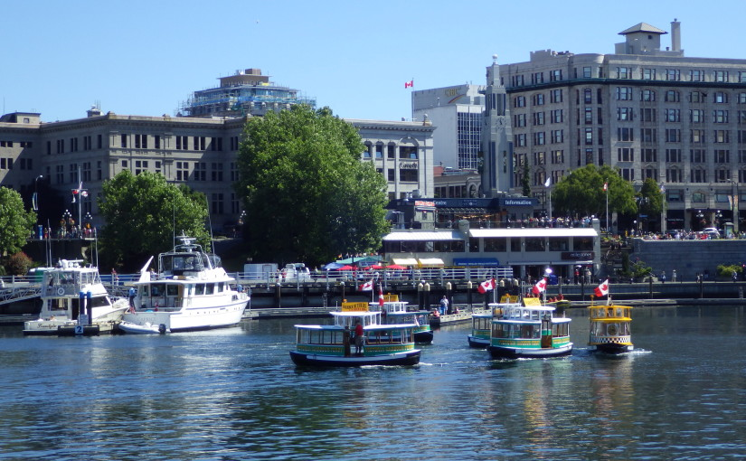 Enjoy The Victoria Water Taxi Ballet