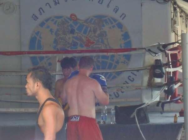 Lamai Beach Thai Boxing Koh Samui Thailand