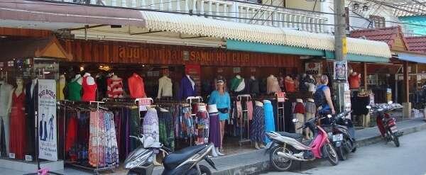 Lamai Beach Thailand Town Center