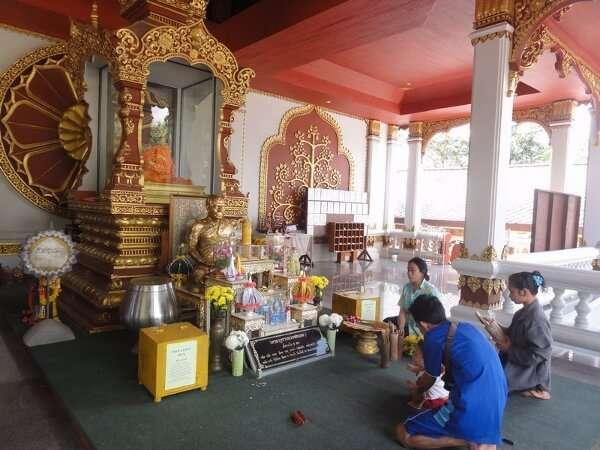 Mummified Monk at Wat Khunaram