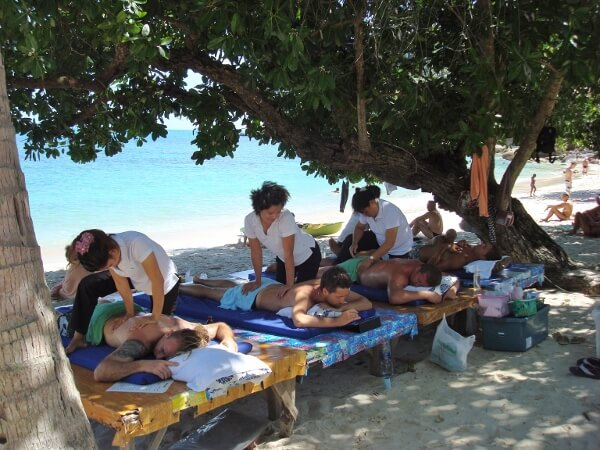 Thailand Beach Massage