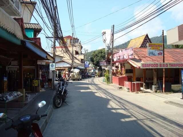 Lamai Beach Town Koh SamuiThailand