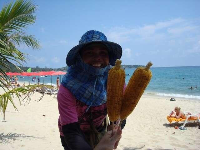 Thailand Local Beach Vendors