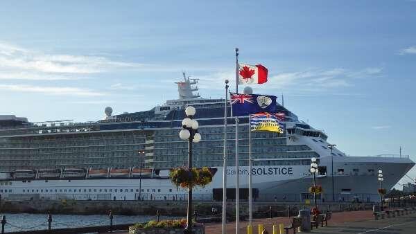 Celebrity Solstice Victoria BC