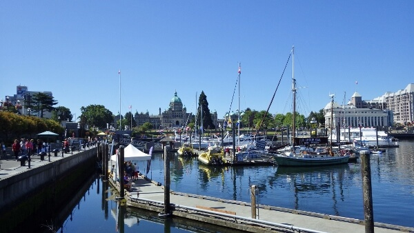 Inner Harbour in Victoria BC