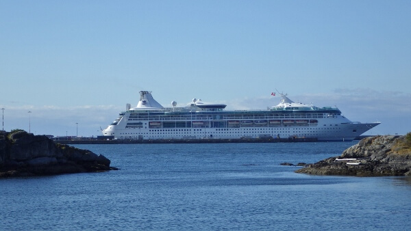 Royal Caribbean Cruise Ship Victoria BC