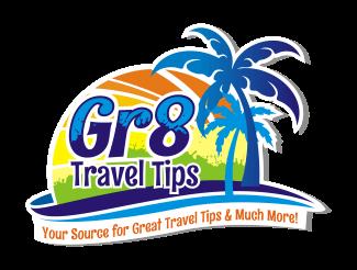 Gr8 travel tips brand logo