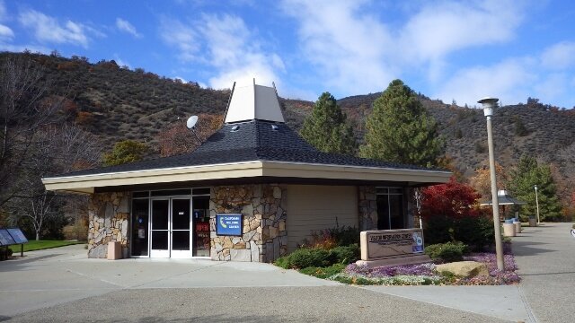 Stop At The Randolph Collier Rest Area In California