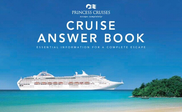 Princess Cruise Planning Tips Booklet