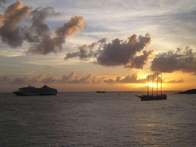 Cruise Ships in St Maarten