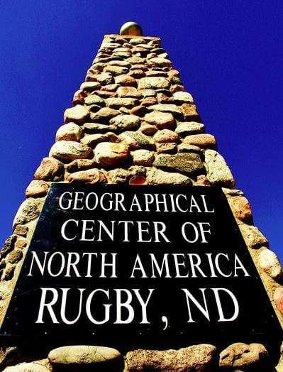 Rugby North Dakota Sign