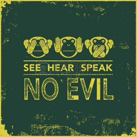 See Hear Speak No Evil Clipart