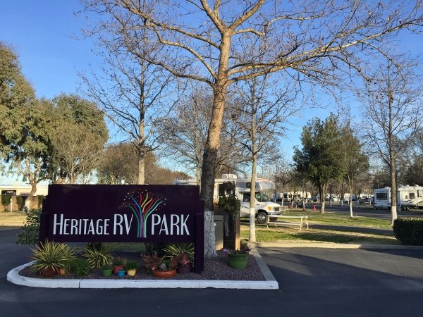 Heritage RV Park Corning California