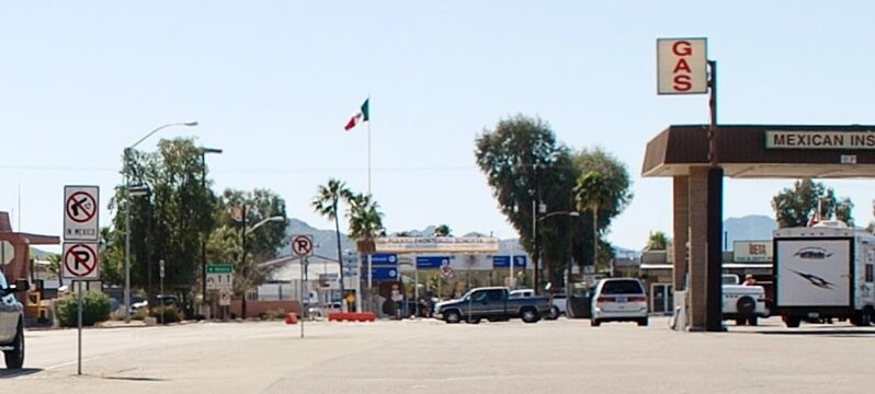 Lukeville Arizona Border Crossing