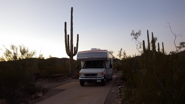 Twin Peaks Campground Arizona